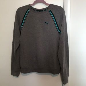 PINK grey pullover
